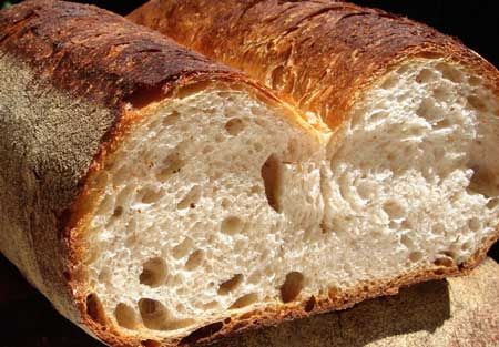Cut fendu loaf
