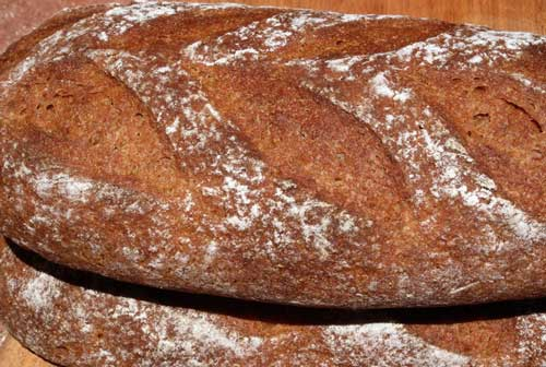 Rye sourdough loaves