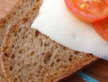 Rye sourdough sandwich