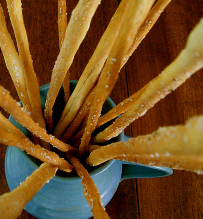 Grissini (Thin Bread Sticks)
