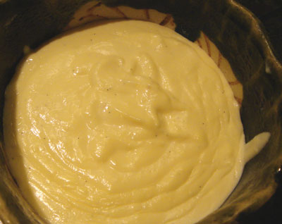 Vanilla custard for Bostini Cream Pie