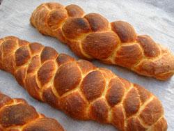 Potato bread four-braids