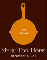 Menu for Hope 4 logo
