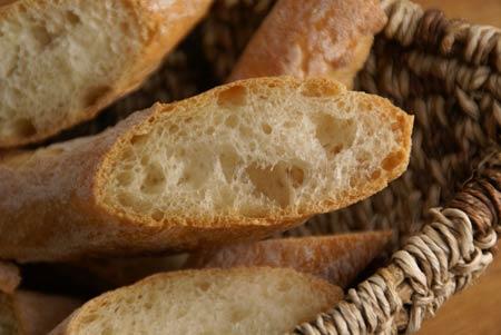 Julia Child's French Bread - crumb