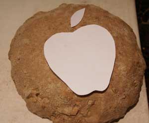 Apple stencil