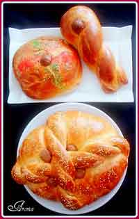 Greek Easter Bread from Aroma
