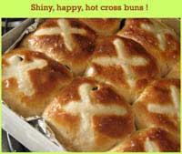 Hot Cross Buns from Saffron Trail