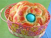 No-Knead Easter Bread from Sticky Gooey Creamy Chewy