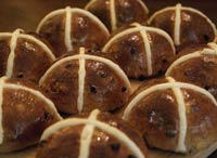 Hot Cross Buns on Wild Yeast