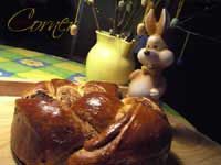 Walnut and Poppy Filled Braided Bread on Almond Corner