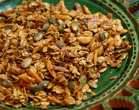 Granola and Granola Bread Recipe