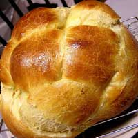 Honey Vanilla Challah by Jacqueline