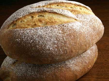 Saltless Tuscan Bread