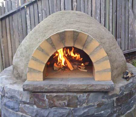 how to make a mud oven