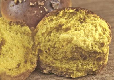 butternut brioche crumb