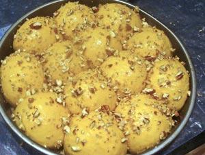 proofed butternut brioche