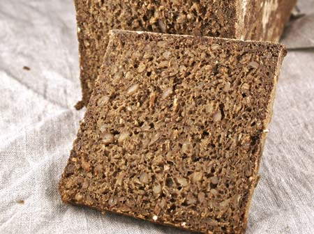 pumpernickel crumb