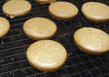 overbaked macarons