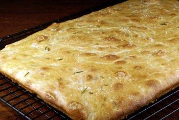 focaccia-baked