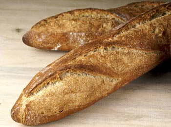 teff poolish baguettes