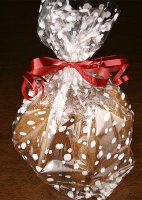 wrapped pandoro