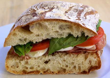 Check out my videos on folding and shaping ciabatta.