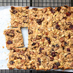 Chewy Sourdough Granola Bars