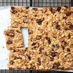 Chewy Sourdough Granola Bars