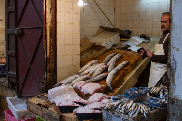 fish is also a staple of the Moroccan diet