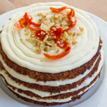 Sourdough Carrot-Ginger Cake