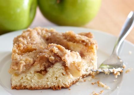 Apple Kuchen Wild Yeast