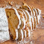 Marzipan Stollen