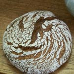 Cracked Rye - Polenta Sourdough