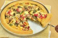 Home-made Pesto, Beef & Capsicum Pizza