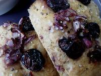 Cherry Black Pepper Focaccia