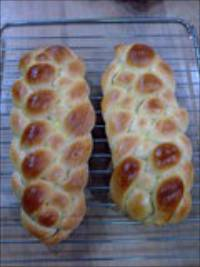 Plaited Bread