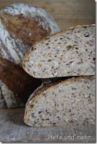 Seeded Bread with two preferments