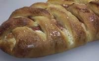 Rhubarb Cream Cheese Braid