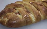 Rhubarb Cream Cheese Braid