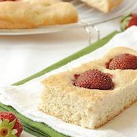 Strawberry Focaccia