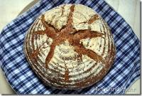 Wholewheat bread with two preferments