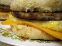 Homemade Egg McMuffins