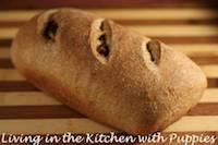 Raisin, Hazelnut and Shallot Bread