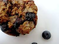 Blueberry White Chocolate Bread Pudding