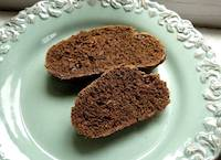 Pumpernickel Rye Bread with Raisins