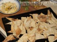 hummus and pita chips