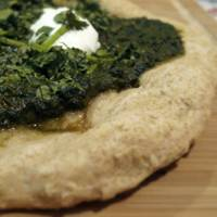 Indian Pizza: Palak Pie