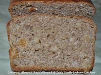 Coconut Almond Raisin Bread