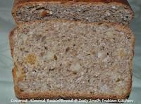 Coconut Almond Raisin Bread