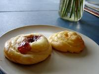 Cheese and Fruit Danishes